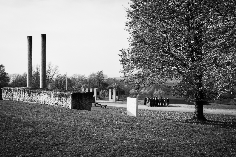 Gedenkstätte im KZ Mauthausen.