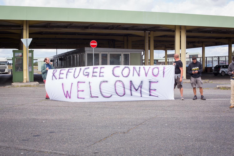 Refugee Convoi Welcome