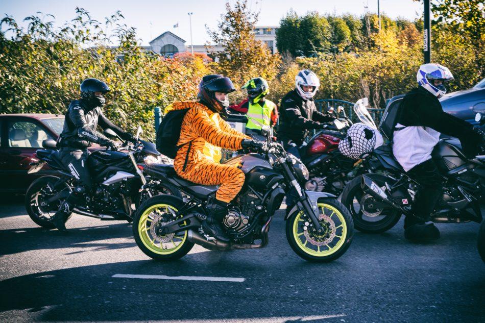 London Motorbike Protest