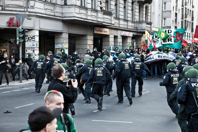 Demo in Kreuzberg