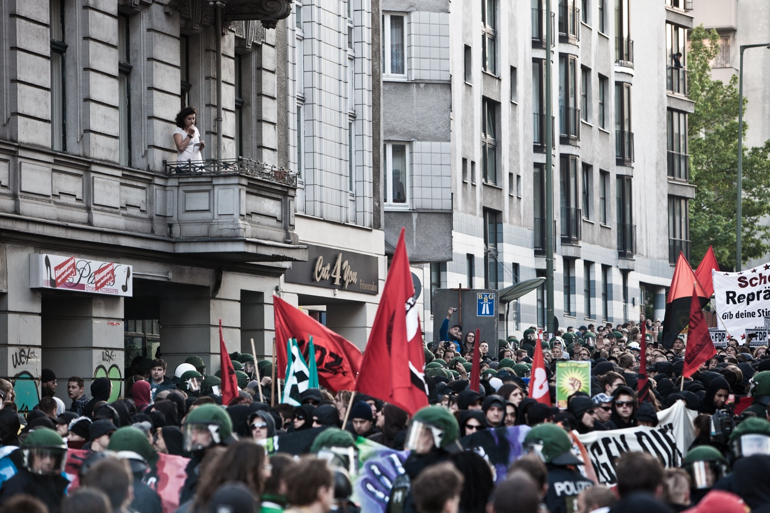 Demo in Kreuzberg