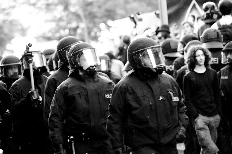Demo in Berlin Kreuzberg