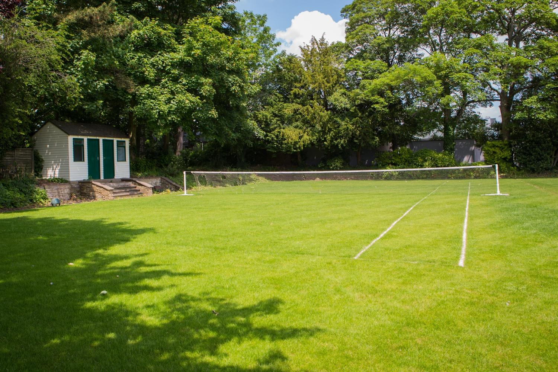 Tennis Court in Bletchley Park