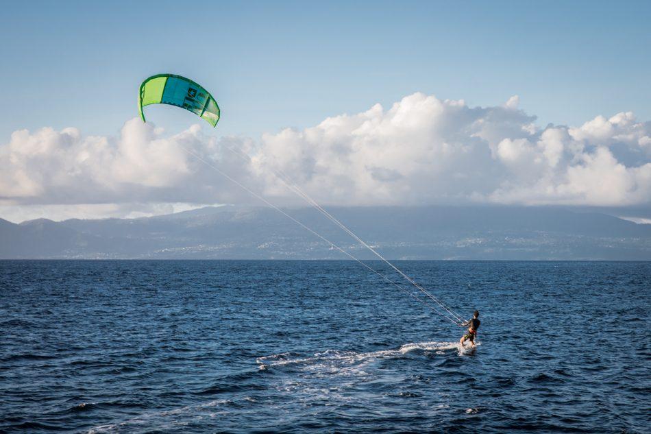 Kitesurfen in Guadeloupe