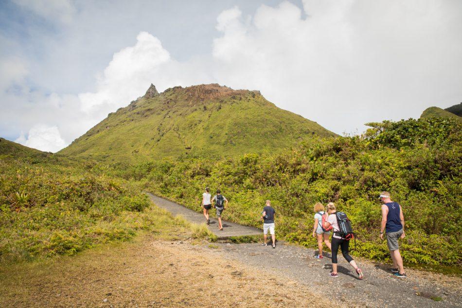 Wanderung auf den Vulkan