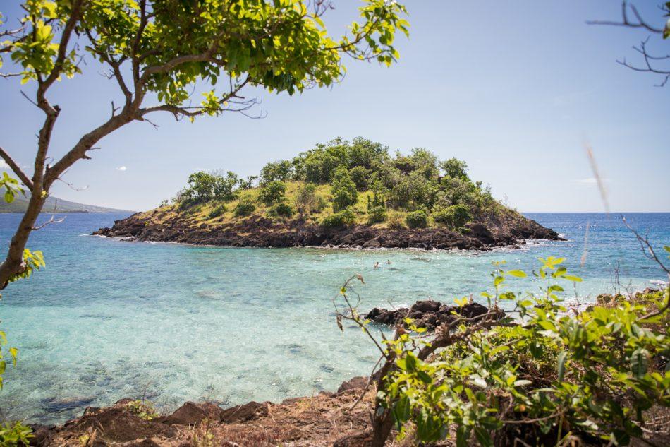 Insel vor Guadeloupe