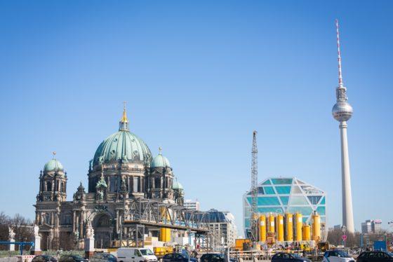 Fernsehturm am Alexanderplatz
