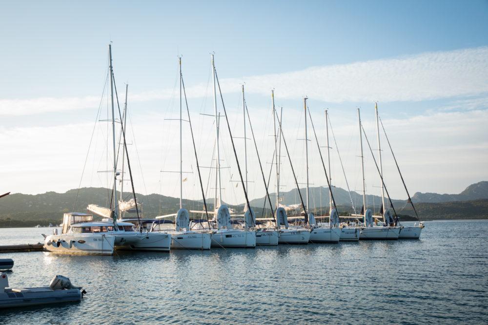 Hafen in Sardinien