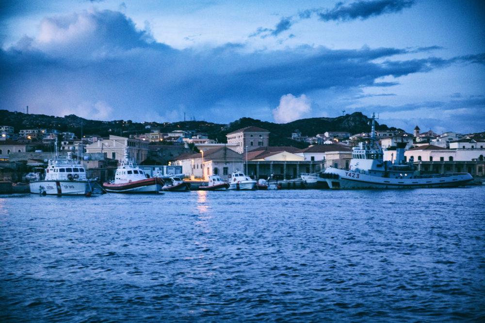 Segeln vor Sardinien