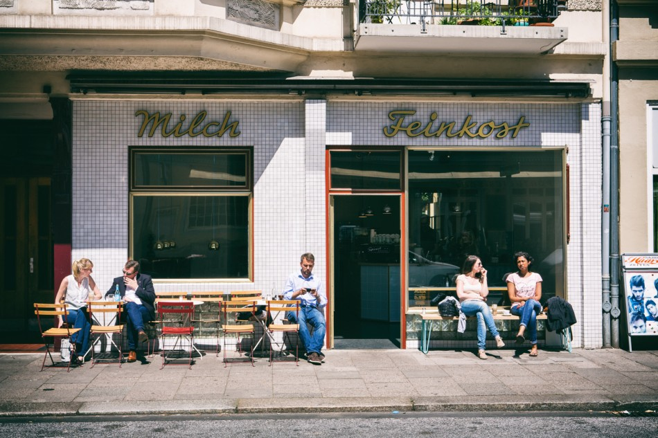 Milch Feinkost. Cafe