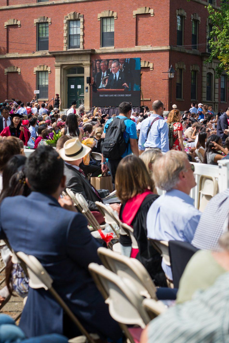 Steven Spielberg, Harvard Commencement