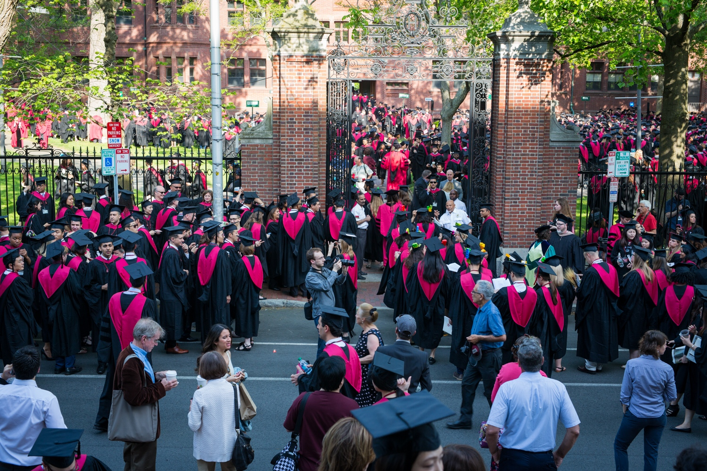 365. Harvard Commencement by Christian Lendl