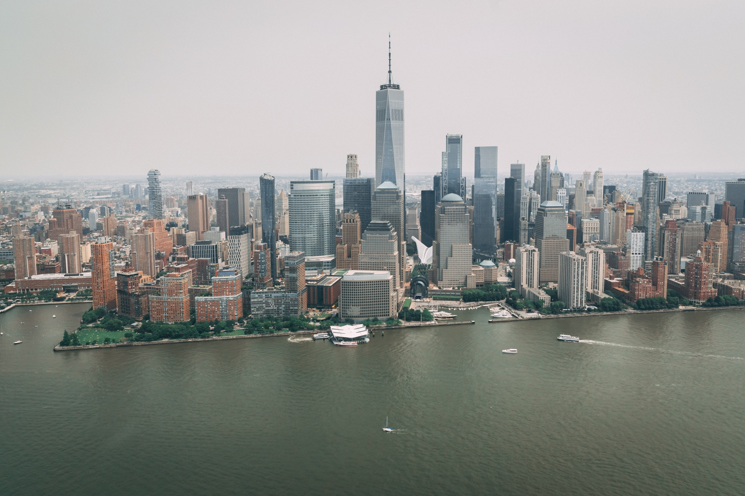 Helicopterflug in New York mit ZIP Aviation
