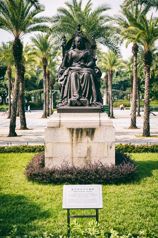 Hong Kong Queen Victoria Statue