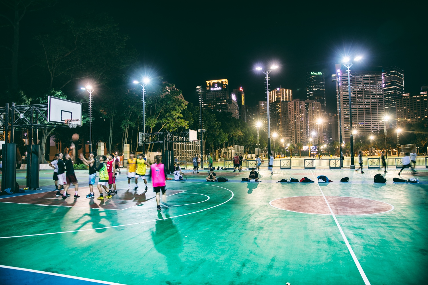 Hong Kong basketball court