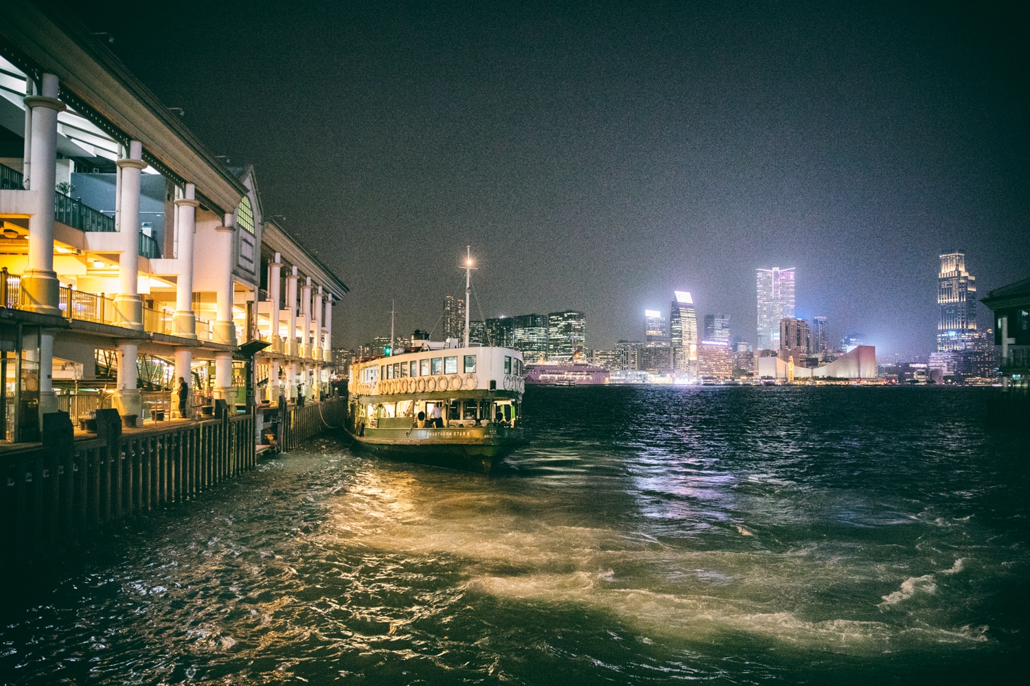 Hong Kong Docks