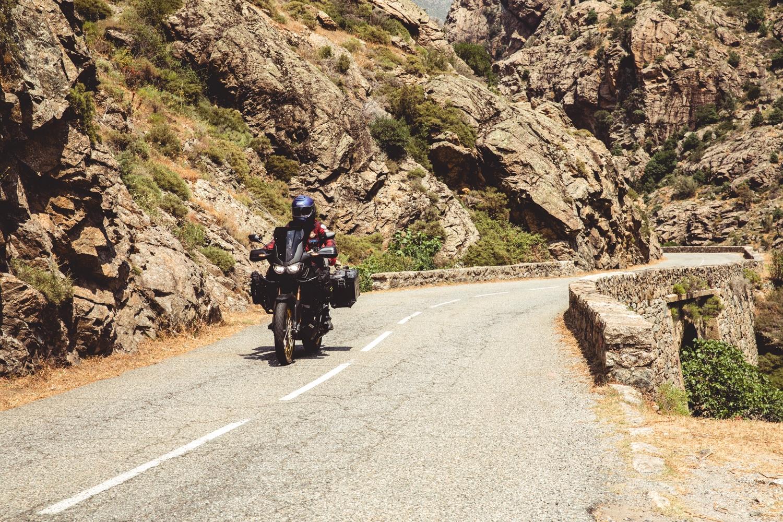 Motorrad-Tour in Korsika im Juni 2019