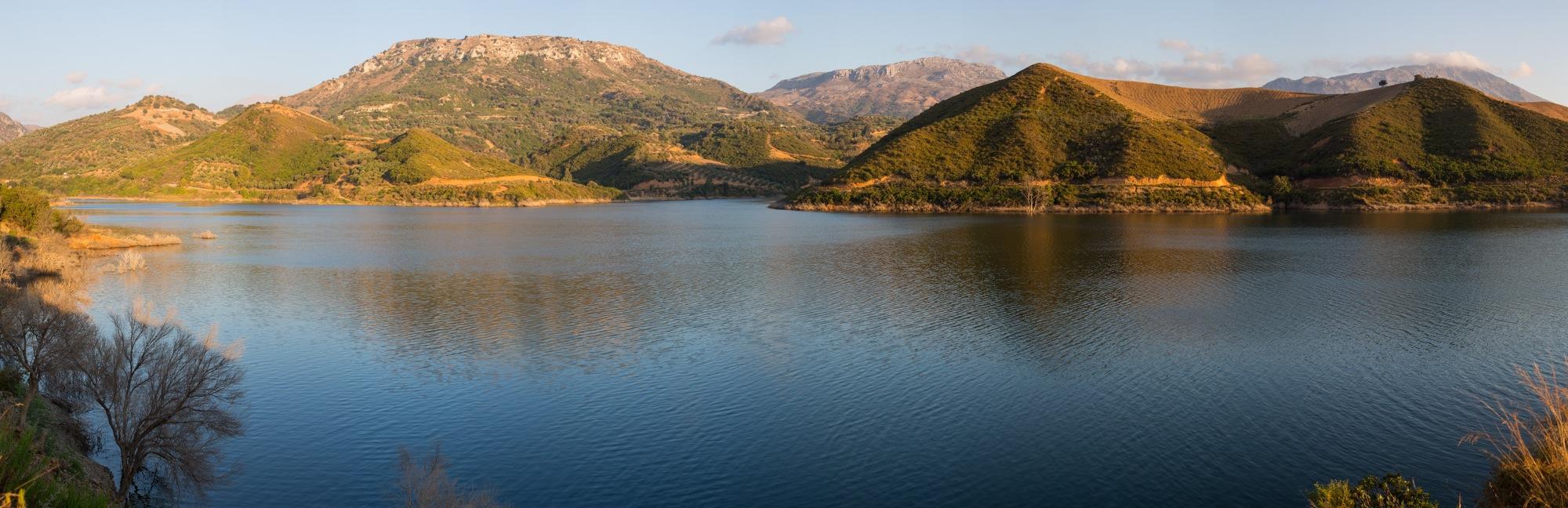 Berglandschaft auf Kreta