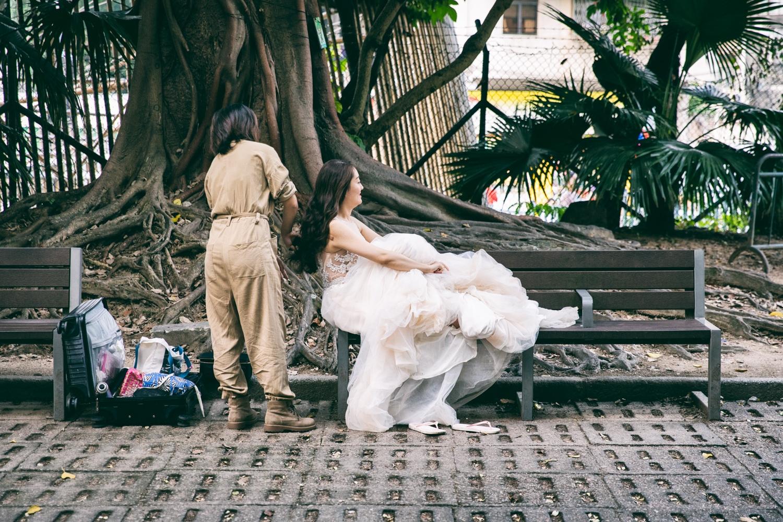 Bride in Macao