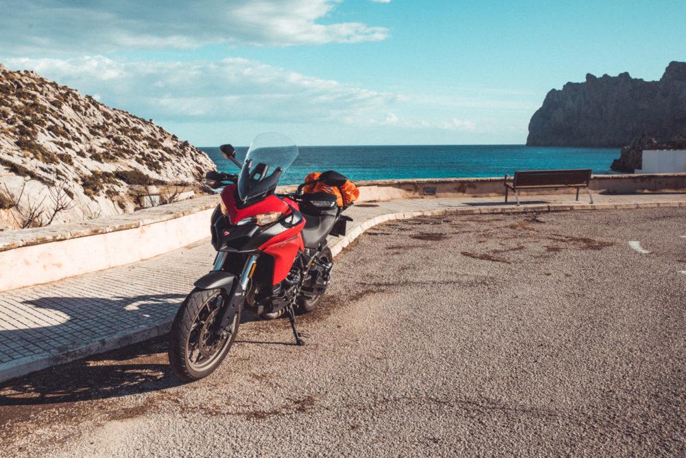 Ducati auf Mallorca
