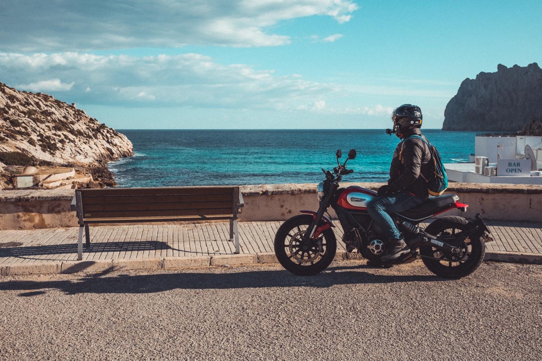 Motorradtour in Mallorca