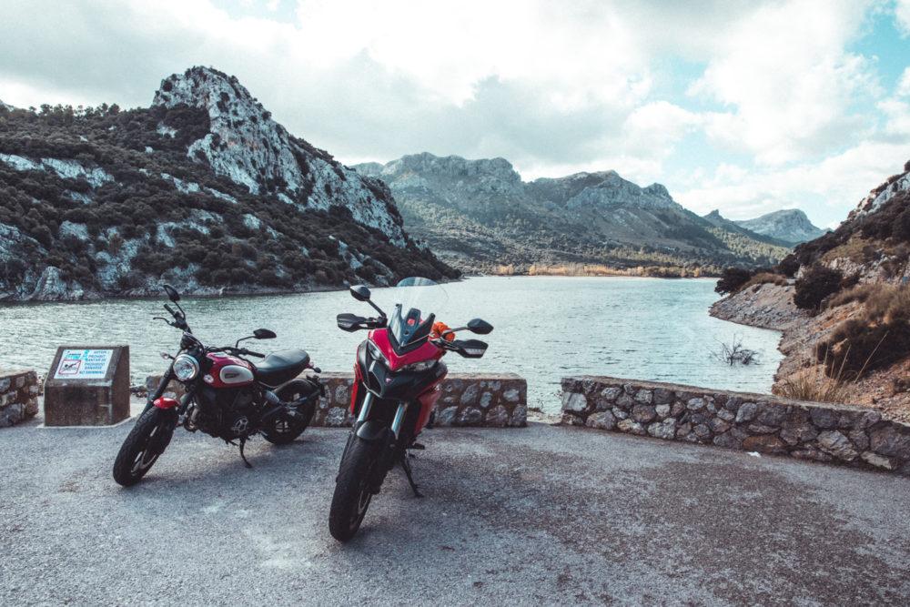 Ducatis auf Mallorca
