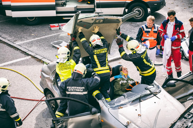 Malteser Unfallübung