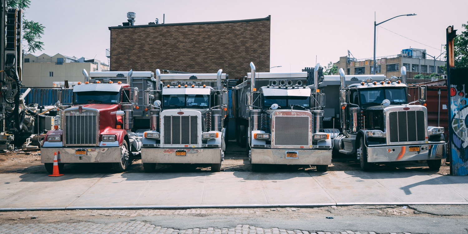 Trucks in New York