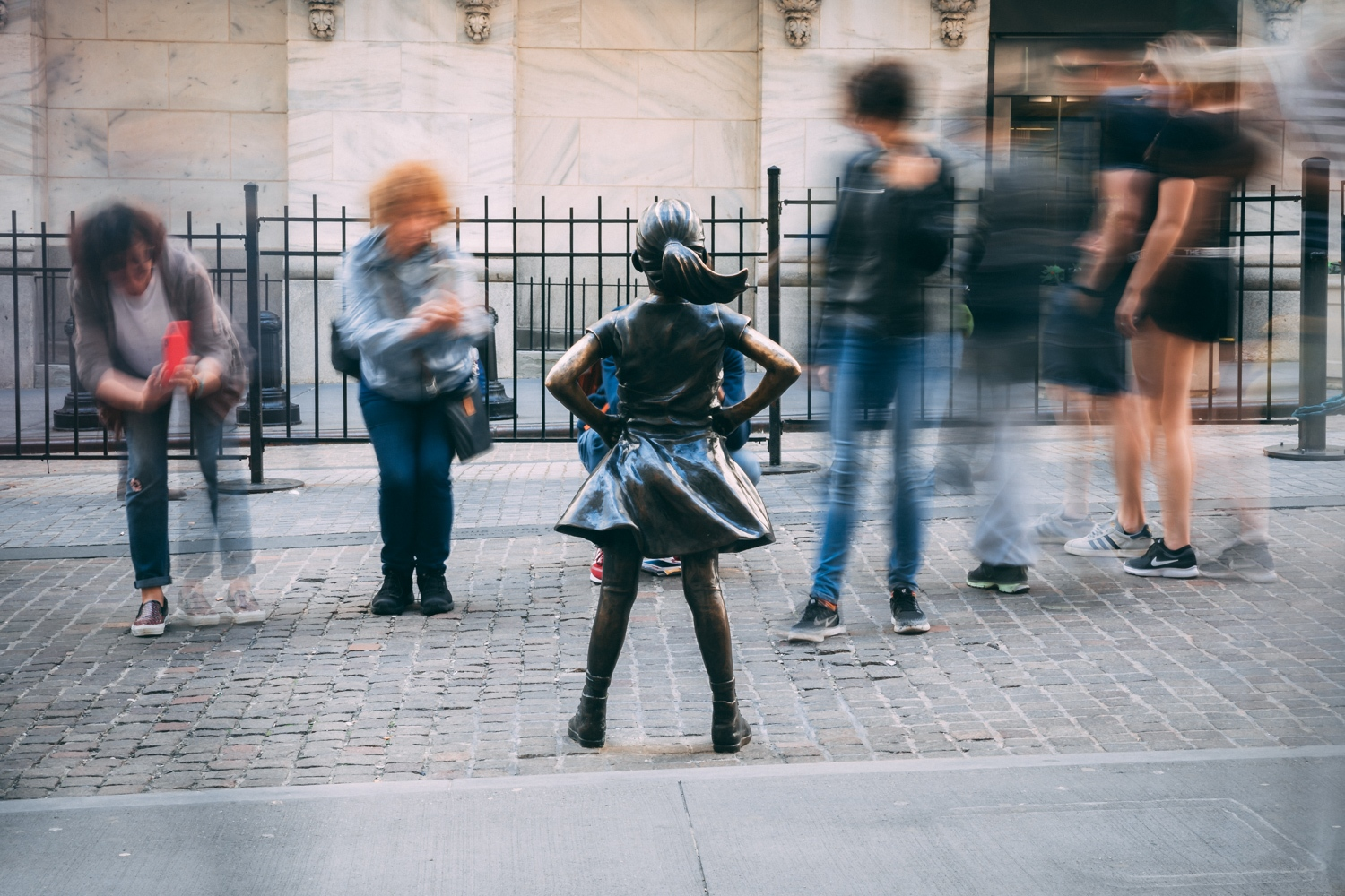Fearless Girl in New York