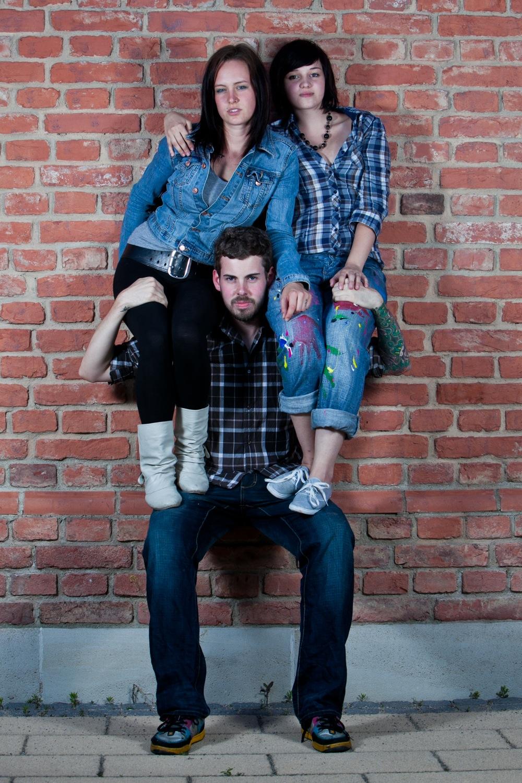 Nici, Yasmin und Marco