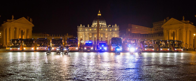 Wallfahrt der Malteser nach Rom im September 2015. Foto: Christian Lendl