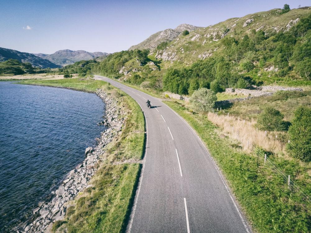 Motorradtour in Schottland