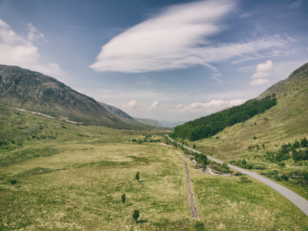 Schottland aus der Vogelperspektive