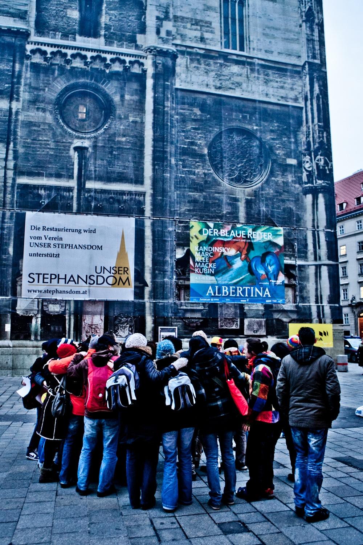 Umarmungs-Flashmob