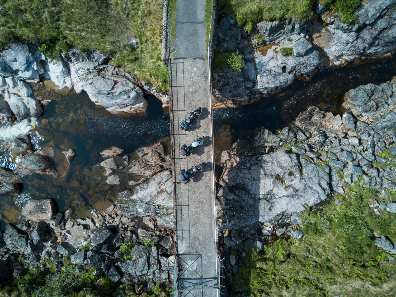 Brücke in Glen Etive