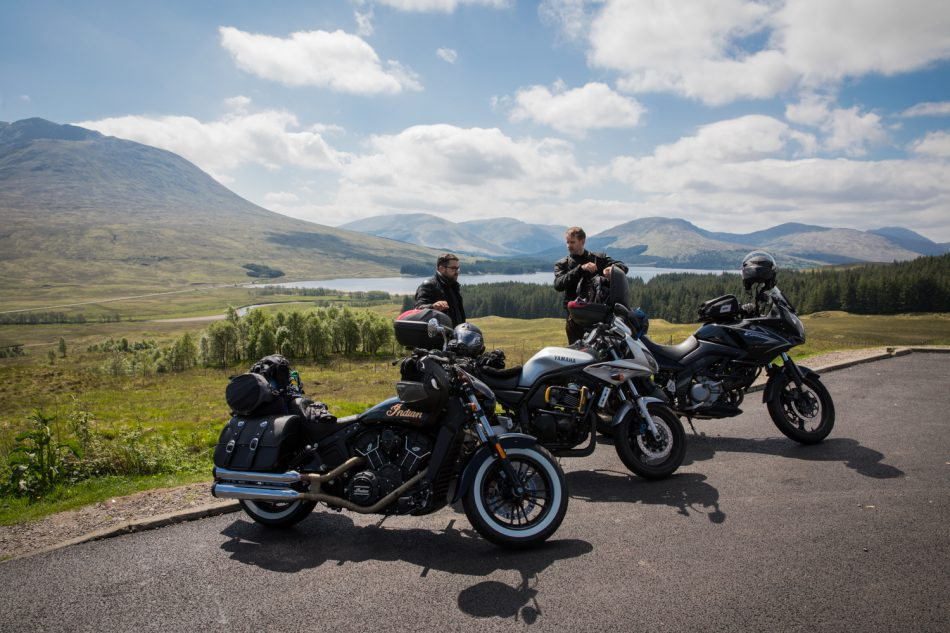 Highlands in der Nähe von Fort William