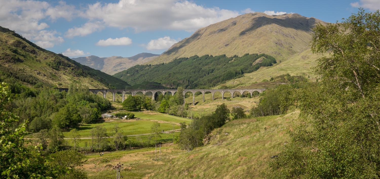 Harry Potter Bahn-Viadukt