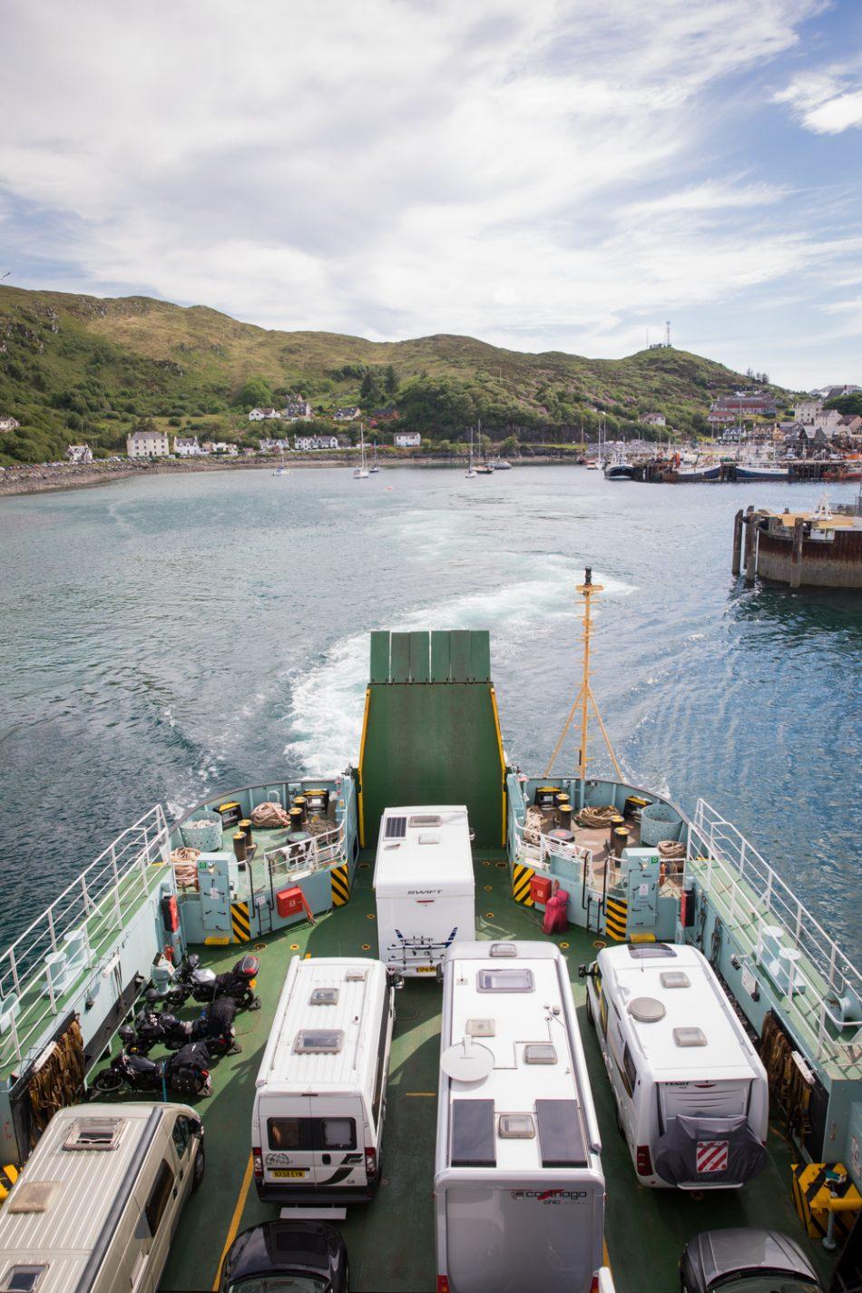 Fähre auf der Isle of Skye