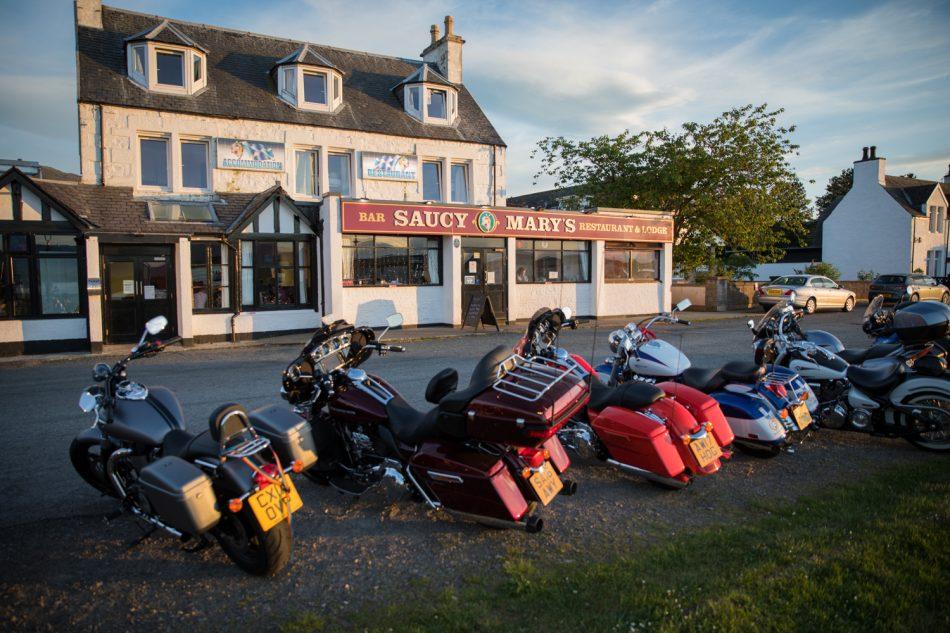 Saucy Mary's auf der Isle of Skye