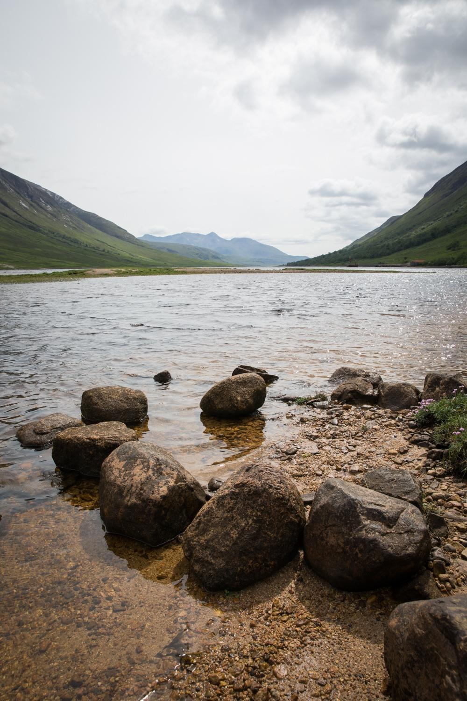 Loch Etive in Schottland