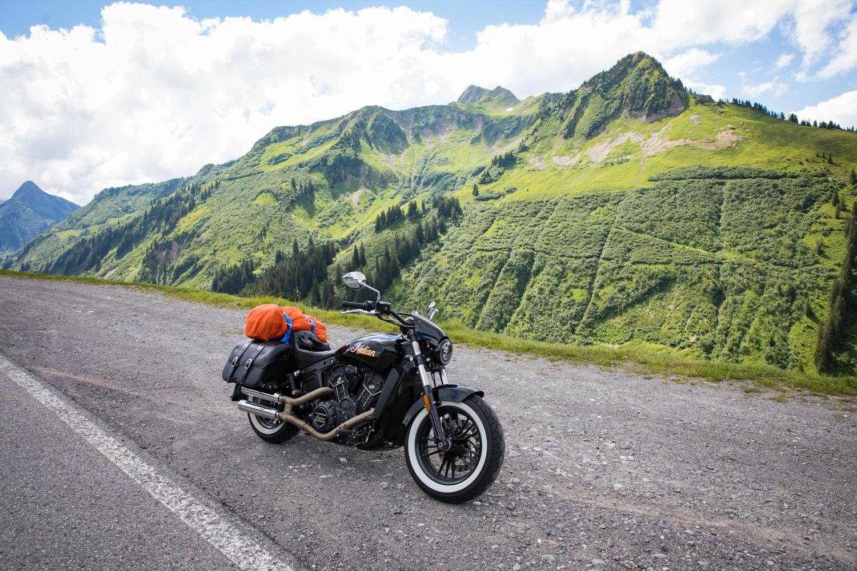 Motorradtour in Vorarlberg