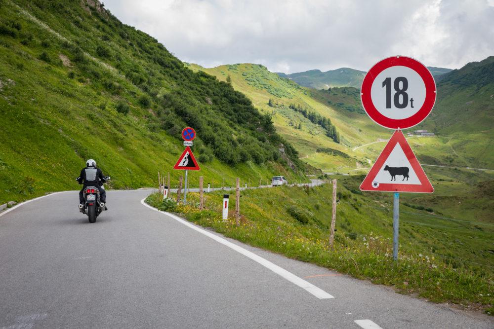 Motorradtour mit einer Indian Scout in Vorarlberg